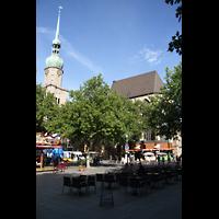 Dortmund, St. Reinoldi, Turm und Chorraum