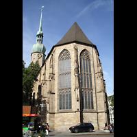 Dortmund, St. Reinoldi, Chor von außen