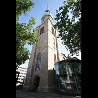Dortmund, St. Reinoldi, Turm und Reinoldiforum