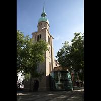 Dortmund, St. Reinoldi, Turm und Seitenschiff