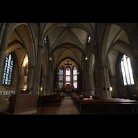 Dortmund, St. Reinoldi, Hauptschiff in Richtung Chor