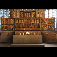 Dortmund, St. Reinoldi, Altarretabel aus dem frühen 15. Jahrhundert