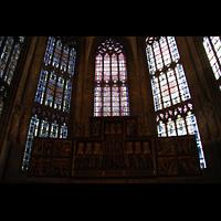 Dortmund, St. Reinoldi, Chorraumfenster und Altar