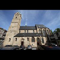 Dortmund, St. Marien, Außenansicht von der Seite