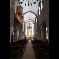 Dortmund, St. Marien, Hauptschiff in Richtung Chor