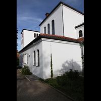 Detmold, Heiig-Kreuz-Kirche, Erhöhter Chorraum