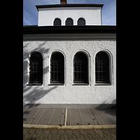Detmold, Heiig-Kreuz-Kirche, Bögen am Seitenschiff