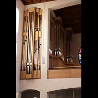 Detmold, Heiig-Kreuz-Kirche, Orgelprospekt linker Teil