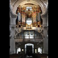 Waldsassen, Stiftsbasilika, Orgelempore