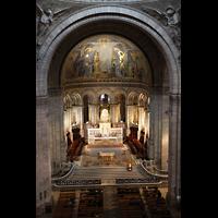 Paris, Basilique du Sacré-Coeur (Hauptorgel), Chorraum