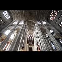 Paris, Saint-Eustache, Langhaus und Querhaus