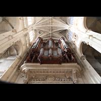 Paris, Saint-Eustache, Orgel perspektivisch