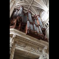 Paris, Saint-Eustache, Orgelmpore perspektivisch