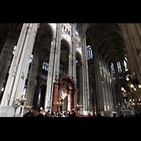 Paris, Saint-Eustache, Innenraum in Richtung Chor