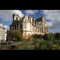 Paris, Saint-Eustache, Gesamtansicht von außen