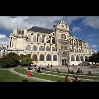 Paris, Saint-Eustache, Seitenansicht von Süden