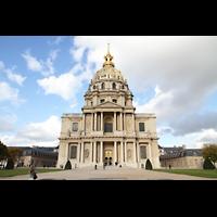 Paris, Saint-Louis des Invalides (Cathédrale aus Armes), Invalidendom mit Vorplatz