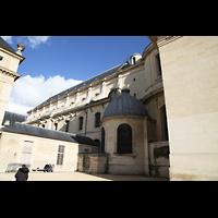 Paris, Saint-Louis des Invalides (Cathédrale aus Armes), Seitenansicht
