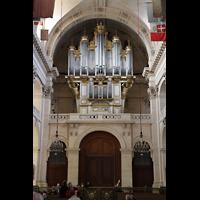 Paris, Saint-Louis des Invalides (Cathédrale aus Armes), Rückwand mit Orgel