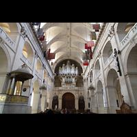 Paris, Saint-Louis des Invalides (Cathédrale aus Armes), Innenraum in Richtung Orgel