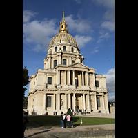 Paris, Saint-Louis des Invalides (Cathédrale aus Armes), Gesamtansicht von außen