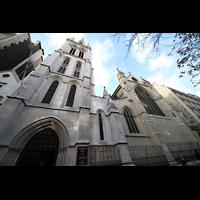 Paris, Cathédrale Américaine (Holy Trinity Cathedral), Fassade