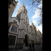 Paris, Cathédrale Américaine (Holy Trinity Cathedral), Gesamtansicht von außen