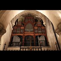 Paris, Cathédrale Américaine (Holy Trinity Cathedral), Hauptteil der Orgel im Chorraum