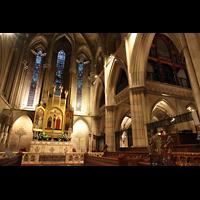 Paris, Cathédrale Américaine (Holy Trinity Cathedral), Chorraum mit Orgel