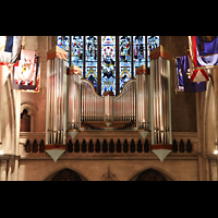 Paris, Cathédrale Américaine (Holy Trinity Cathedral), Neues Teilwerk 'Grand Choeur' an der Rückwand