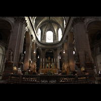 Paris, Saint-Sulpice (Chororgel), Chorraum