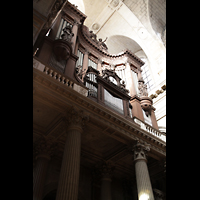 Paris, Saint-Sulpice (Chororgel), Orgelempore perspektivisch