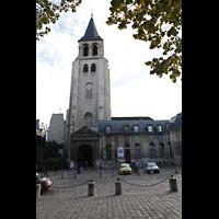 Paris, Saint-Germain des Prés, Hauptportal und Turm
