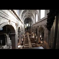 Paris, Saint-Sulpice (Chororgel), Blick von der Empore in die Kirche