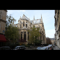 Paris, Sainte-Clotilde, Gesamtansicht von Osten