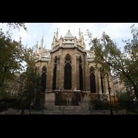 Paris, Sainte-Clotilde, Chor von außen