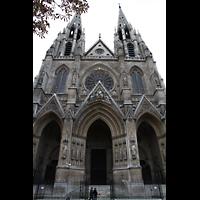 Paris, Sainte-Clotilde, Fassade