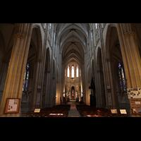 Paris, Sainte-Clotilde, Hauptschiff in Richtung Chor