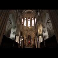 Paris, Sainte-Clotilde, Chorraum mit Altar