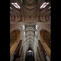 Paris, Sainte-Clotilde, Blick in die Vierung und zur Orgel