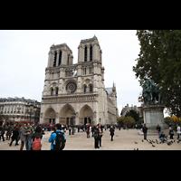 Paris, Cathédrale Notre-Dame (Hauptorgel), Außenansicht