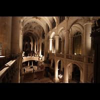 Paris, Saint-Étienne-du-Mont, Blick von der Orgelempore in die Kirche