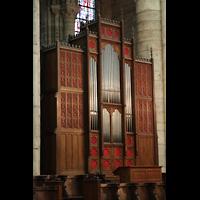 Soissons, Cathédrale Saint-Gervais et Saint-Protais, Chororgel