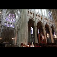 Soissons, Cathédrale Saint-Gervais et Saint-Protais, Chorraum und Querhaus