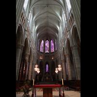 Soissons, Cathédrale Saint-Gervais et Saint-Protais, Chor