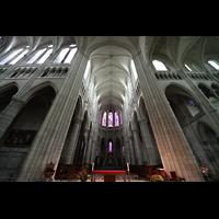 Soissons, Cathédrale Saint-Gervais et Saint-Protais, Querhaus und Chorraum