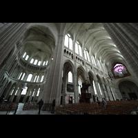 Soissons, Cathédrale Saint-Gervais et Saint-Protais, Südliches Querhaus (1180) und Langhaus