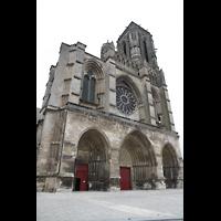 Soissons, Cathédrale Saint-Gervais et Saint-Protais, Fassade