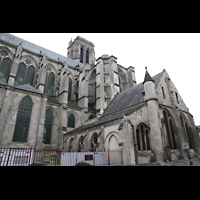 Soissons, Cathédrale Saint-Gervais et Saint-Protais, Gesamtansicht von außen