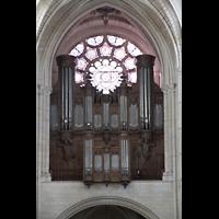 Laon, Cathédrale Notre-Dame, Orgel